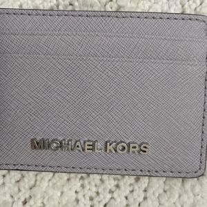 Michael Kors Jet Set Card Case Wallet, Lilac, NEW